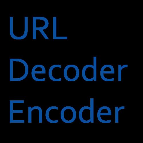 url decoder encoder